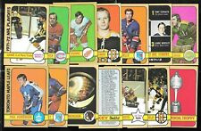 1972-73 TOPPS 72-73 NHL HOCKEY CARD 1-176 SEE LIST