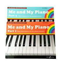 Lot of 2 ME AND MY PIANO Books-Part 1 & Part 2-MUSIC LESSONS-Faber Music-UK