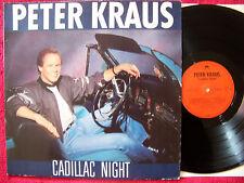 Peter Kraus - Cadillac night       Top German Polydor  LP
