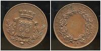 médaille  EXPOSITION SCOLAIRE  1885  EURE ET LOIR