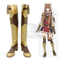 The Rising Of The Shield Hero Raphtalia Cosplay Shoes High Boots Customized Size