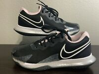 NEW Nike Court Air Zoom Vapor Cage 4 'Black Pink Foam' Tennis  Shoes Womens SZ 9