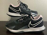 NEW Nike Court Air Zoom Vapor Cage 4 'Black Pink Foam' Tennis  Shoes Womens SZ 9