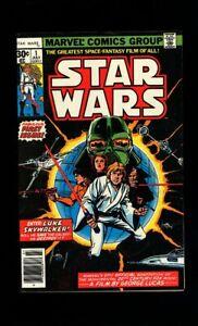 Star Wars #1 (1977) 1st Print 1st Luke Skywalker and Darth Vader!L@@K!