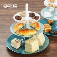 3-layer Cake Stand Storage Tray Fruit Snacks Pastry Holder Candy Dessert G1S2