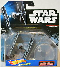 HOT WHEELS STAR WARS 2016 STARSHIPS TIE FIGHTER INCLUDES FLIGHT STAND