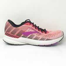 Brooks Womens Ravenna 10 1202861B615 Pink Coral Running Shoes Lace Up Size 10 B