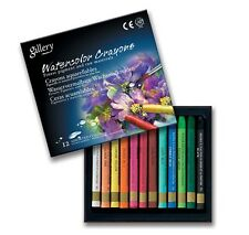 Watercolour Crayon Mungyo Professional Gallery 12 Colours Artist Drawing MAC12