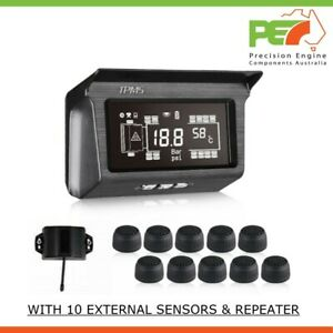 Solar Wireless 10 TPMS RealTime Tire Pressure Monitoring System for UD MK6 Truck