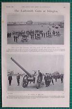 1900 BOER WAR ERA LADYSMITH GUNS AT ISLINGTON NAVY NAVAL CAPTAIN SCOTT