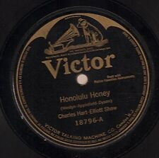 Charles Hart and Elliot Shaw on 78 rpm Victor 18796: Honolulu Honey/Sweet Hawaii