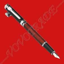 Glorious Jinhao 8812 Fountain Pen Rose Wood Barrel Vintage Style Splendid Gift