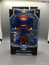 "DC Multiverse Superman-The Animated Series: SUPERMAN 7"" Action Figure McFarlane"