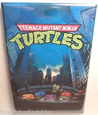 """TMNT Teenage Mutant Ninja Turtles Sewer 2""""x3"""" Fridge Locker MAGNET"""