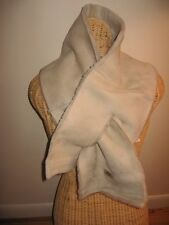 UGG® Australia Pull-Through Shearling Scarf ,Sand