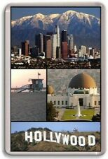 LA Los Angeles Fridge Magnet 01