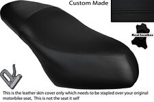 BLACK STITCH CUSTOM FITS PIAGGIO DIESIS 100 DUAL LEATHER SEAT COVER ONLY