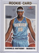 CARMELO ANTHONY 2003/04 Fleer NBA RC Denver Nuggets ROOKIE CARD Basketball NY LE