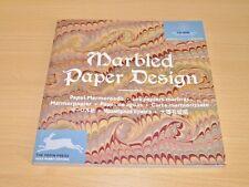 Marbled Paper Design 121 MOTIFS DE PAPIERS MARBRÉS avec CD pour IMPRESSION