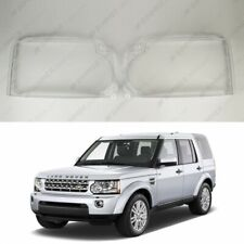 New Headlight Glass Headlamp Lens Cover (PAIR) LAND ROVER LR4 Discovery 09-13