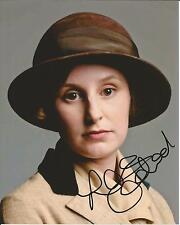 Hand Signed 8x10 LAURA CARMICHAEL - DOWNTON ABBEY as LADY EDITH CRAWLEY + my COA