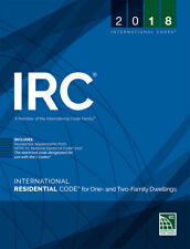 2018 International Residential Code for One and Two Family Dwellings