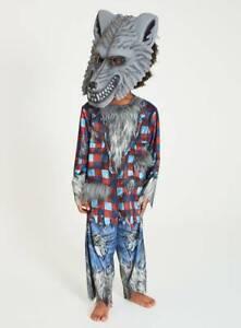 Halloween Boys Howling Werewolf Fancy Dress Dressing up Costume H19