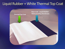 WHITE THERMO TOP COAT - 10L Bucket - Heat Reflective Roof Coating