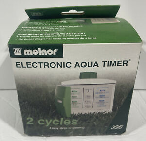 Melnor Electronic Aqua Timer 3000 2 Cycle Single Zone Programmable Water Timer