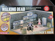 MCFARLANE THE WALKING DEAD BUILDING SET *THE GOVERNOR'S ROOM* 292PCS. NIB