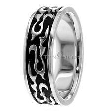 14K Gold Celtic Wave Wedding Bands Rings Celtic Mans Womens Wedding Bands Ring