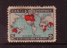 CANADA....  1898  2c map mint