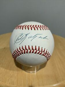 Carl Yastrzemski YAZ Boston Red Sox Signed Basebal ROMLB Upper Deck Certified