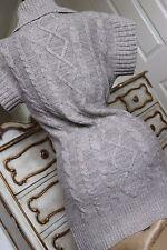 DEBENHAMS ladies knitted sleveless jumper sweater top size 10 -12