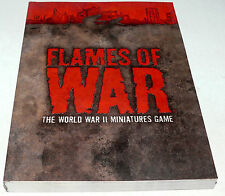 Flames of War 3rd Third Edition Rules SB Book 298 Pages New WWII Miniature Game