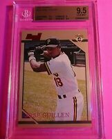 1996 Bowman Jose Guillen ROOKIE RC #116 BGS 9.5 GEM MINT