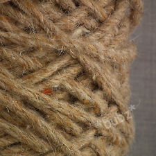 SUPER THICK BERBER RUG MAKING WOOL BROWN DOUBLE 450g CONE CARPET WEAVE YARN BB25