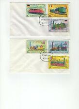 Stamps - Trains - Ajman/UAE