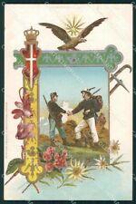 Militari Regio Esercito Guardia di Finanza GdF cartolina XF0613