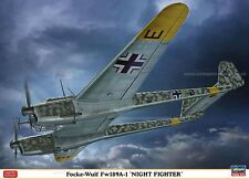 1/72 WWII German Focke-Wulf FW189A-I Night Fighter model kit by Hasegawa