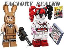 LEGO Batman Movie March Harriet & Nurse Harley Quinn 71017 Minifigures LOT packs
