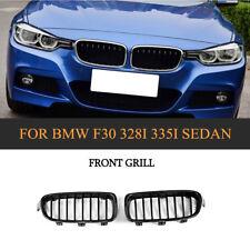 Front Grille Grill for BMW F30 F31 328i 335i Sedan/Wagon 2012-2016 Carbon Fiber