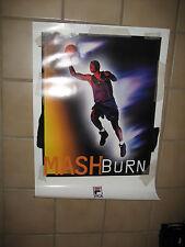 "Vintage FILA Jamal Mashburn ""Change The Game"" Poster 27""x19"" Dallas Mavericks"