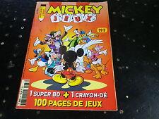 MICKEY JEUX 87 de 1998 très bon état, comme neuf.