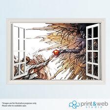 Grand venger Sevenfold Death Bat Chambre Mural Transfert Autocollant Vinyle