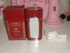 CARTIER Must De Cartier Soft Body Milk 125 ML/4.2 OZ Never Been Used In Box
