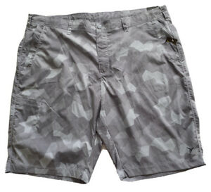 """Old Navy Active At The Knee Swim Board Shorts 10"""" Inseam Gray Men's XXL NWT"""