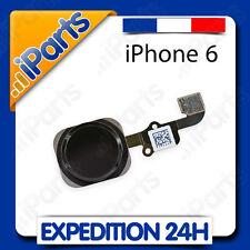 BOUTON HOME + NAPPE ASSEMBLÉ POUR IPHONE 6 ou 6 PLUS - NOIR / GRIS