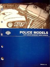 2016 Harley Police Electra Glide Road King Sportster Parts Catalog Manual 954516