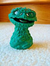 Vintage Sesame Street Oscar The Grouch Finger Puppet